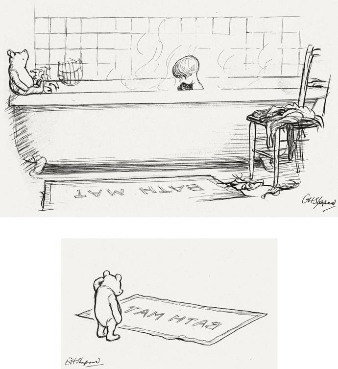 """Sotheby's продаст первые иллюстрации к """"Винни-Пуху"""" (фото 3)"""