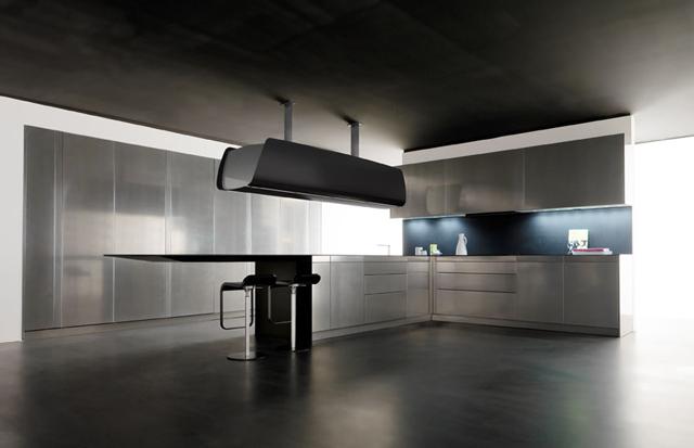 Eurocucina 2014 кухня невидимка от toncelli фото