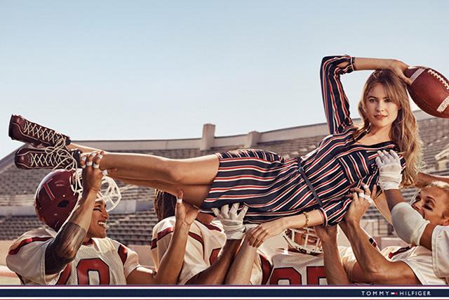 Рекламная кампания Tommy Hilfiger к 30-летию бренда (фото 1)