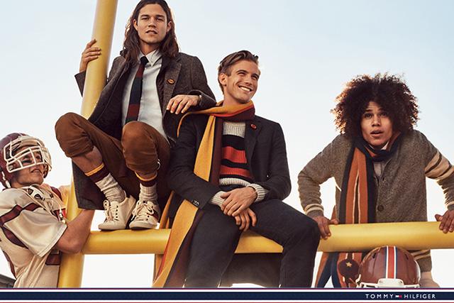 Рекламная кампания Tommy Hilfiger к 30-летию бренда (фото 2)