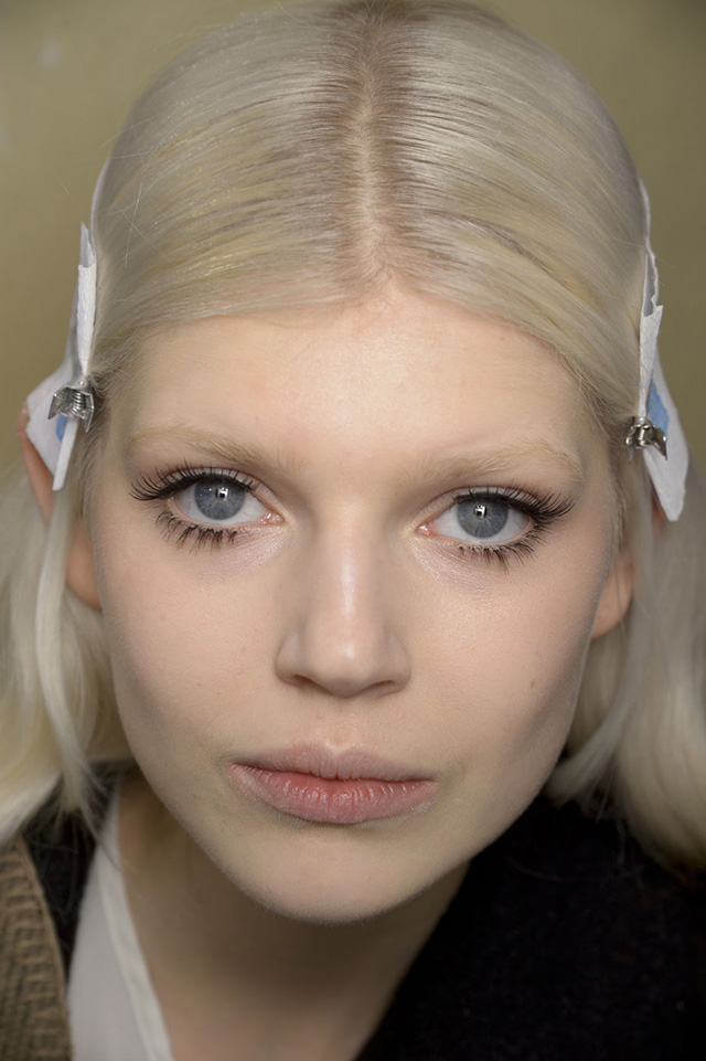 Trend: in the style of Twiggy eyelashes (photo 2)