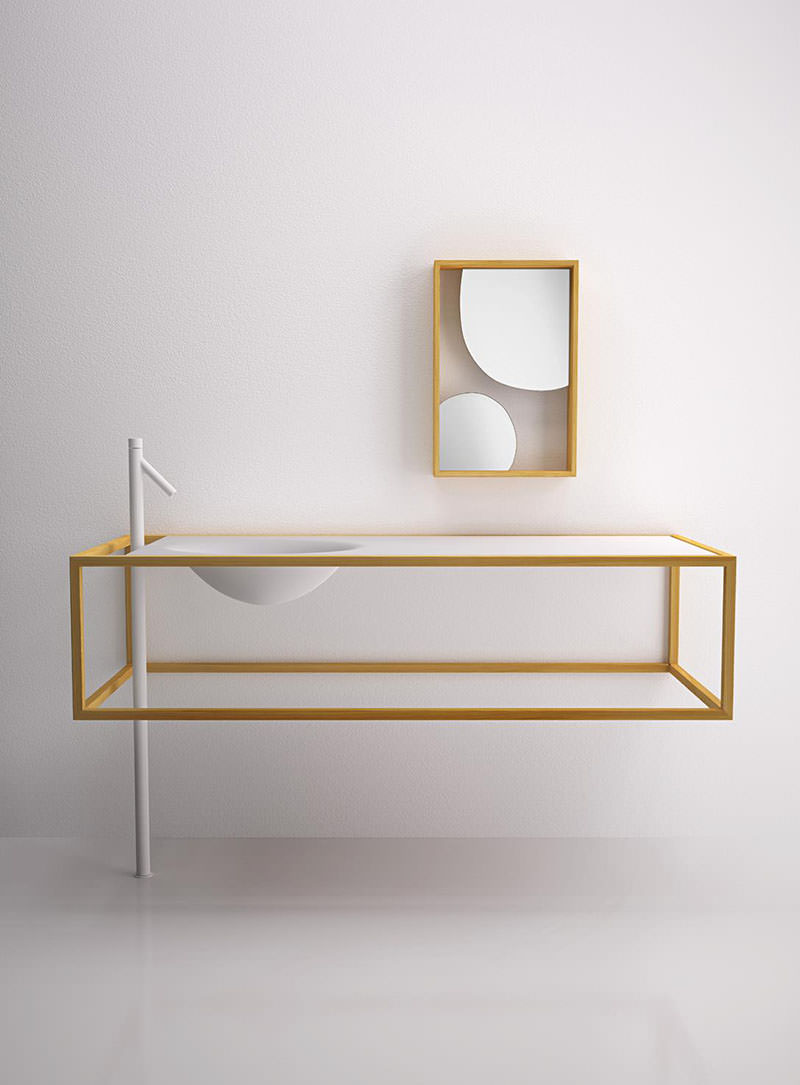 the nendo collection Bisazza Bagno