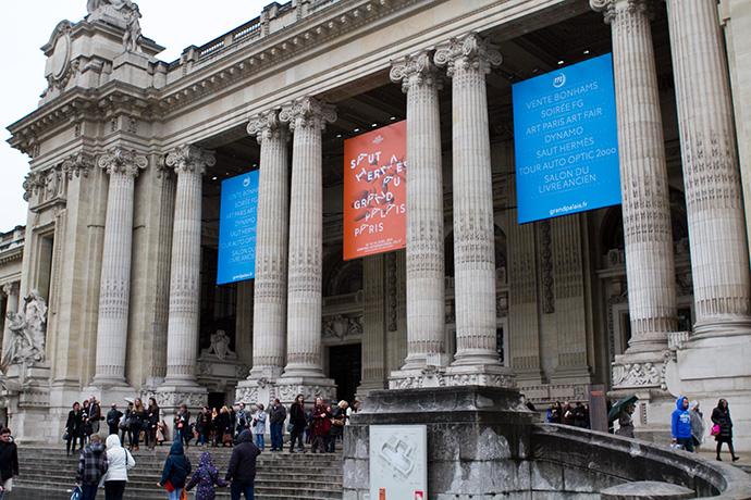 Скачки Saut Hermès в Париже (фото 1)