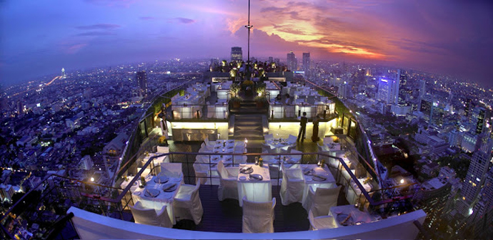 Vertigo Bar – Banyan Tree  Bangkok
