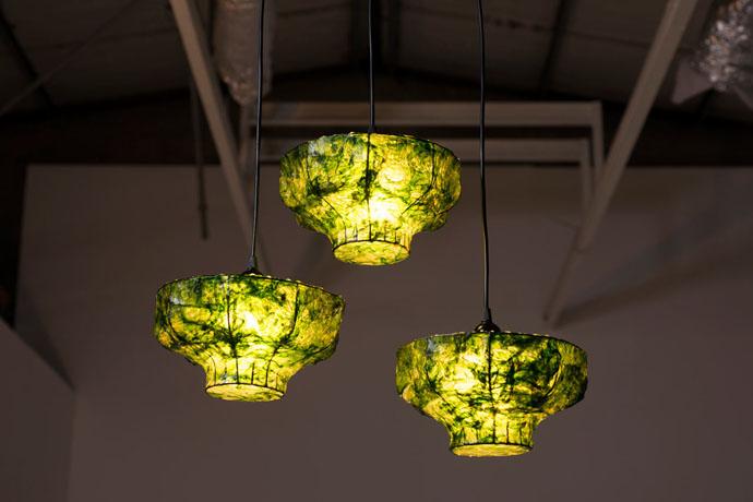 Лампы с водорослями от Nir Meiri (фото 2)