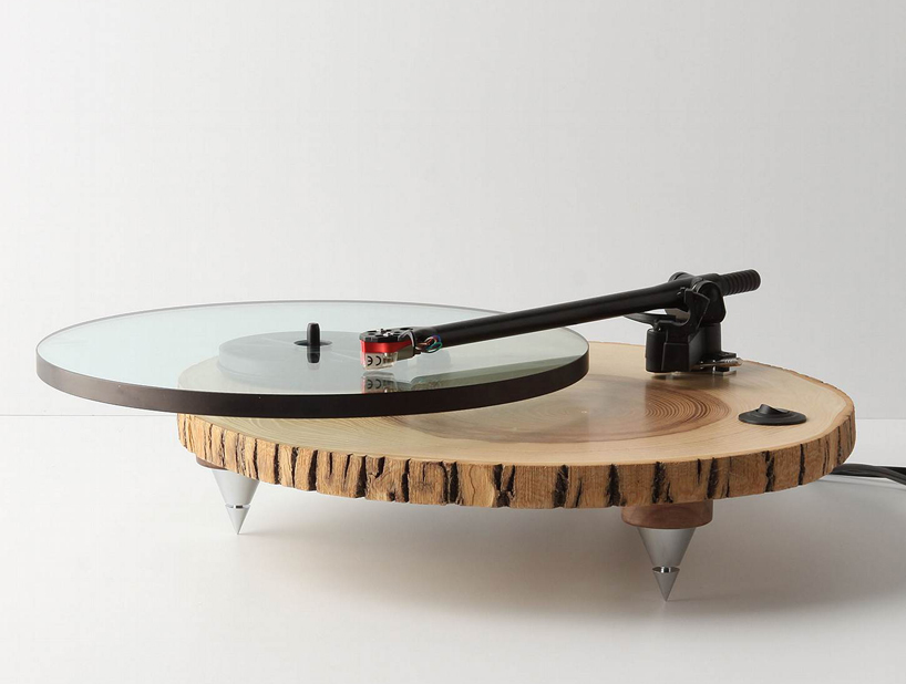 audiowood barky turntable by joel scilley 1