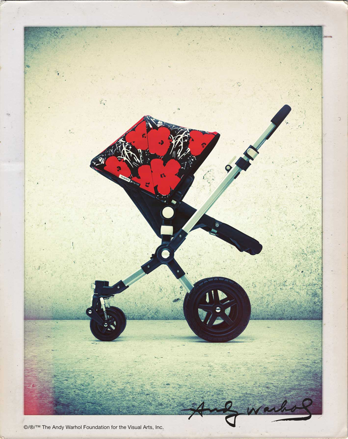 Детские коляски Bugaboo x Andy Warhol Foundation