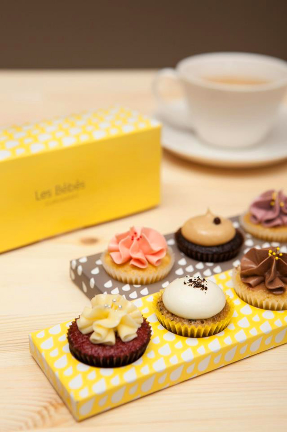 Patisserie Les Bébés Cupcakery en Taiwán (foto 4)