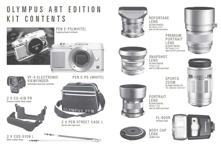 Olympus Art Edition PEN