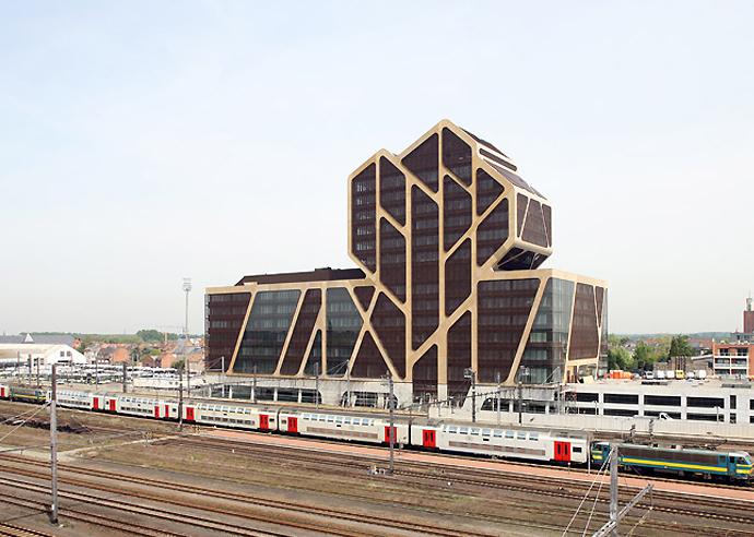 Новый проект Юргена Майера в Бельгии (фото 1)