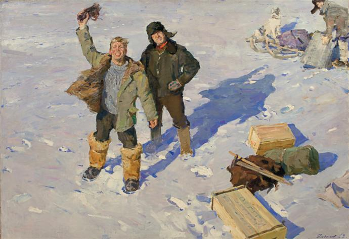 """""""Советский неореализм"""": искусство 50-60-х в Манеже (фото 4)"""
