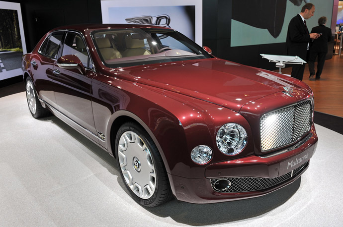 The Bentley Mulsanne Apple Concept