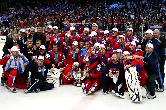 Сборная россии выиграла чм по хоккею
