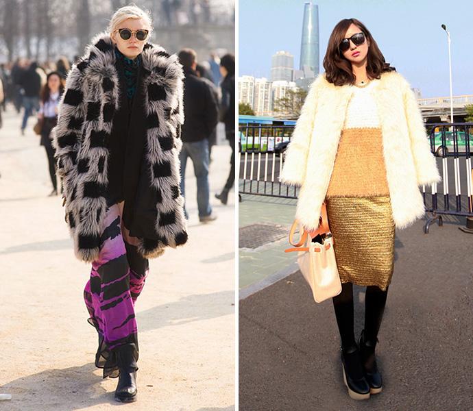 Ugly fur coat buro 24 7 - Weihnachtsdeko furs buro ...