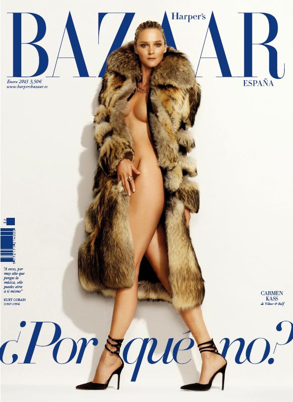 Январская обложка Harper's Bazaar Spain (фото 1)
