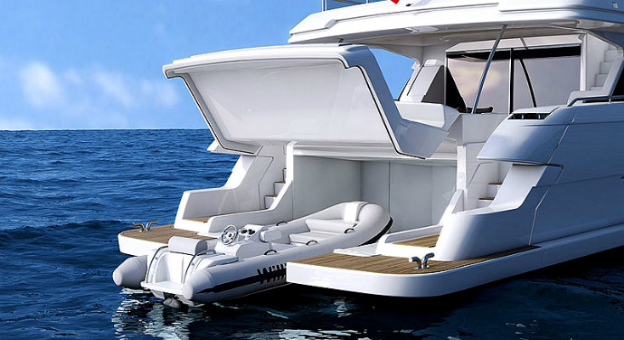 Новая яхта Ferretti 960 (фото 4)