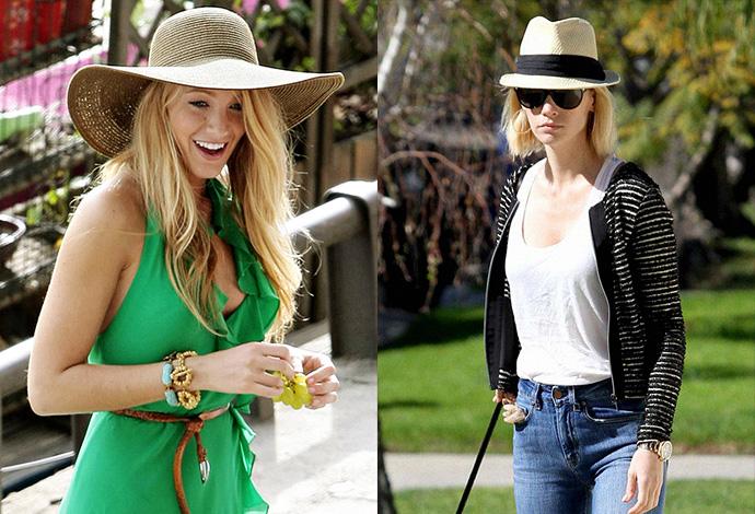 Шляпа соломенная с чем носить