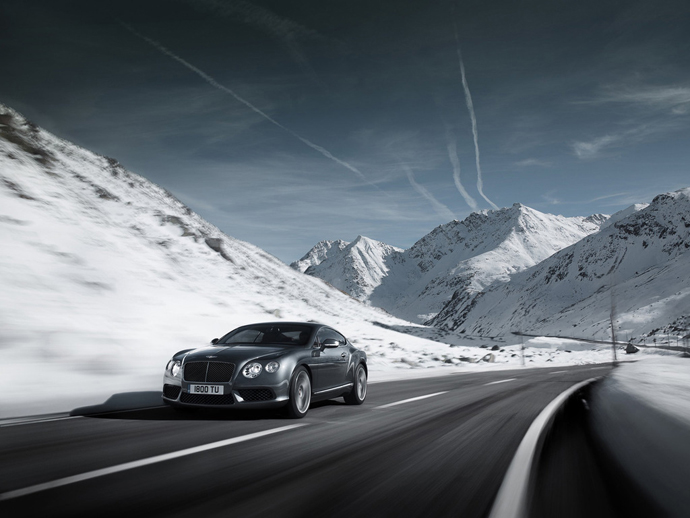 Новый Bentley Continental GT V8 (фото 1)