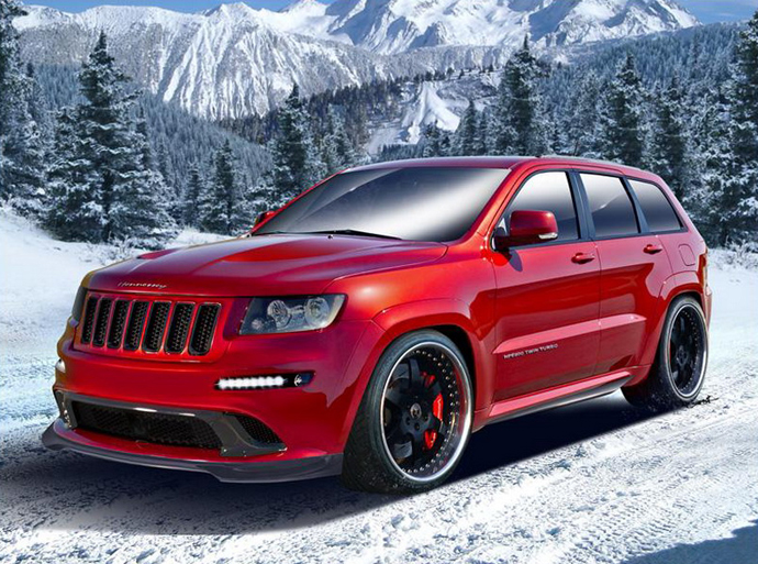 Hennessey Performance Jeep Grand Cherokee
