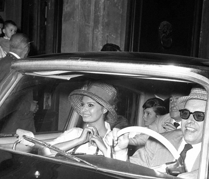Культовые пары: Софи Лорен и Карло Понти (фото 12)