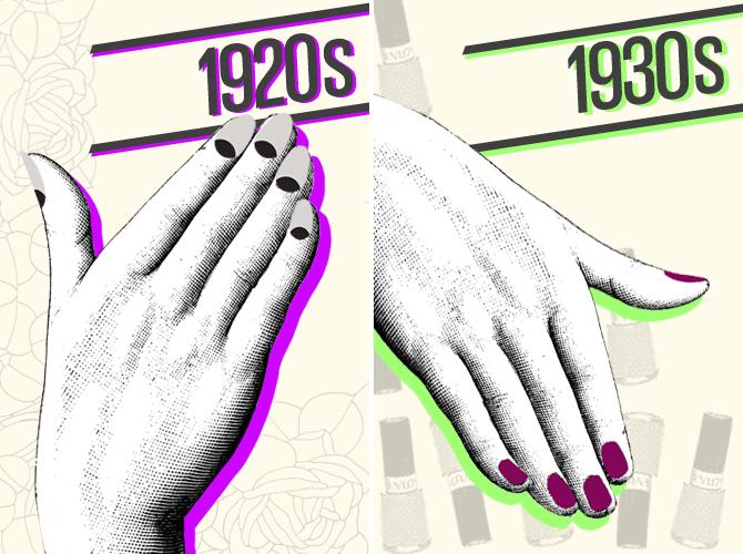 La storia delle unghie e della manicure