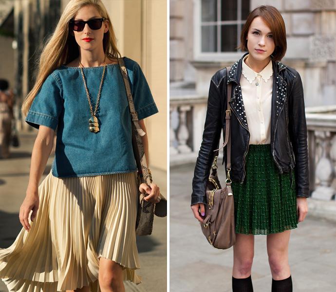 Плиссированные юбки и платья, жакеты, брюки, туники, комбинезоны - все это характеризует коллекцию весна-лето 2012