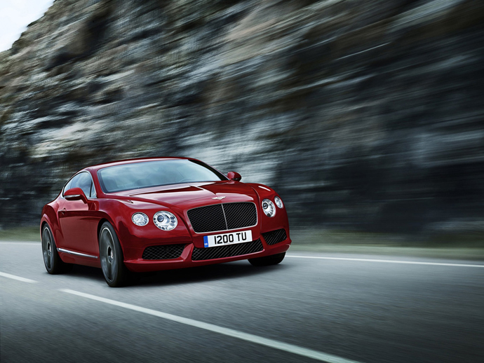 Новый Bentley Continental GT V8 (фото 3)