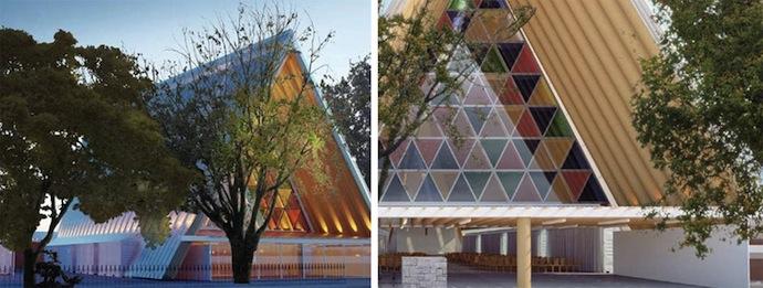 Картонная церковь Шигеру Бана (фото 4)