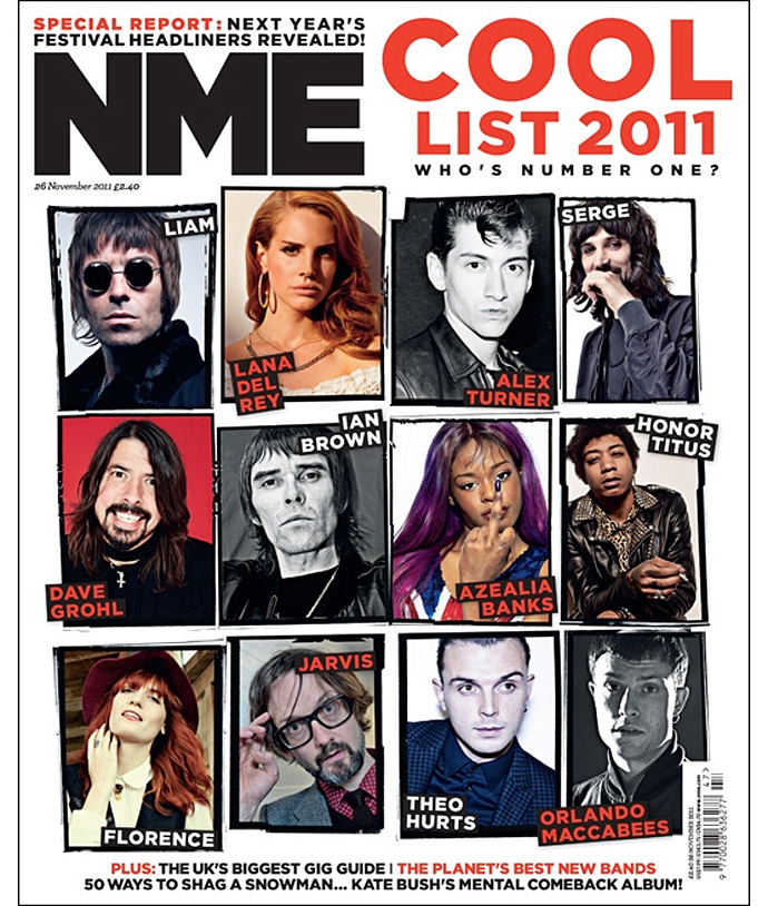 NME's Cool List 2011