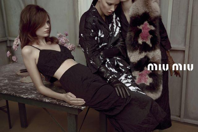 Весенне-летняя кампания Miu Miu (фото 1)