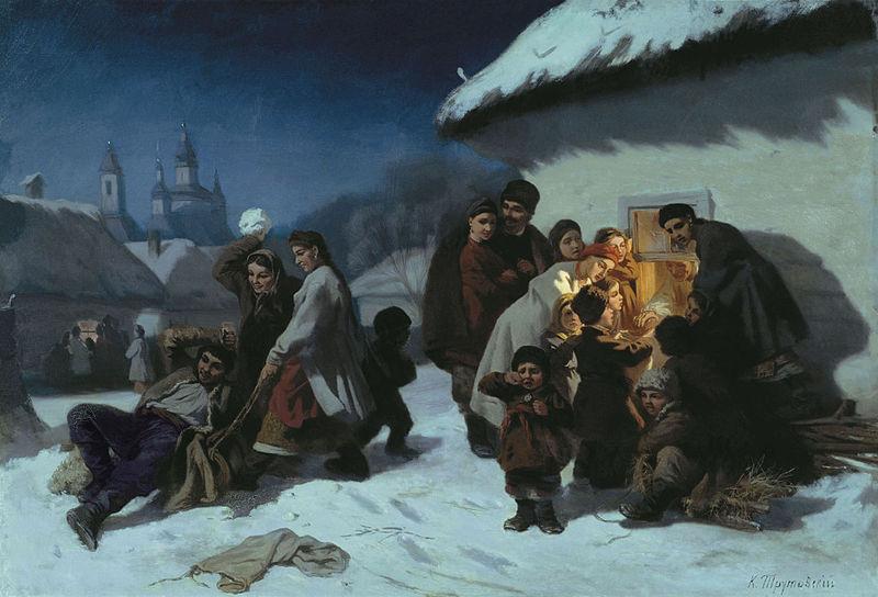 Новый год и Рождество в живописи (фото 6)