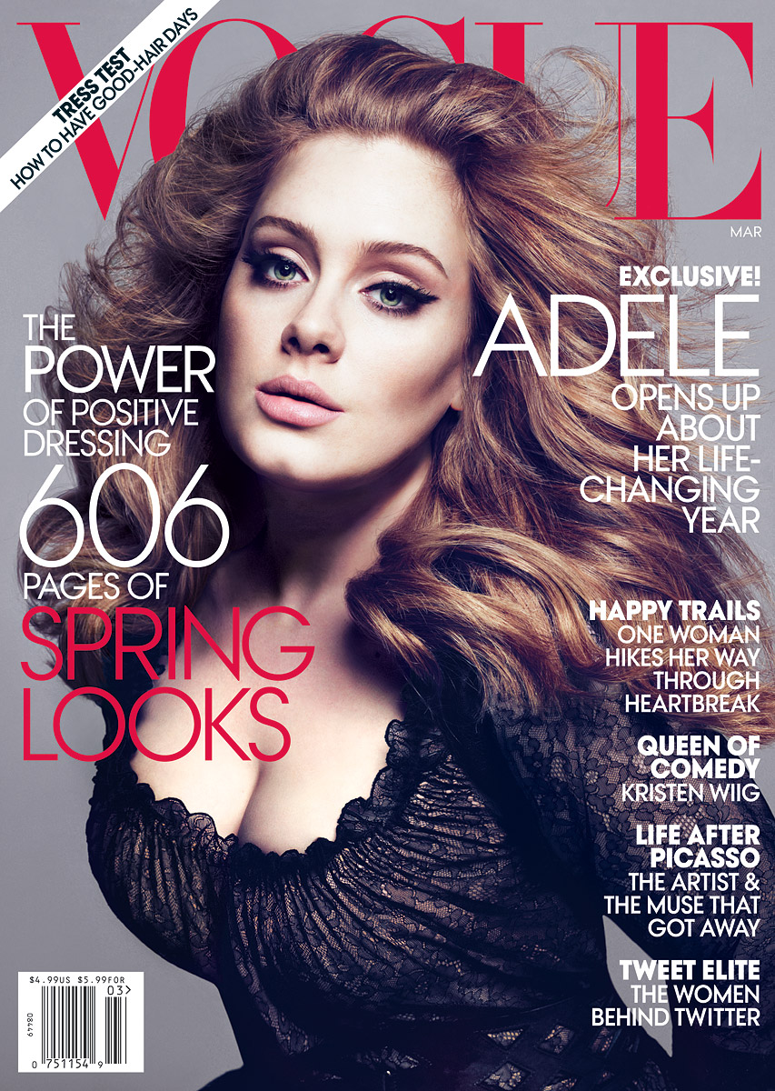 adele 0312 1 marchcover 20072229135 jpg 1329139653 Adele   total diva para Vogue US