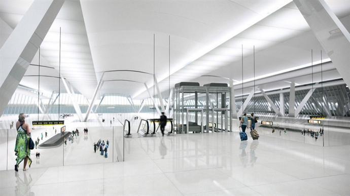 Плавучий аэропорт в устье Темзы (фото 2)