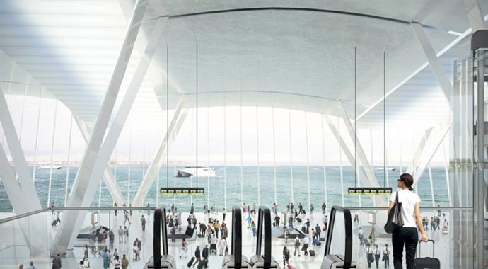 Плавучий аэропорт в устье Темзы (фото 3)