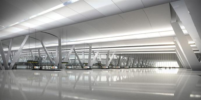 Плавучий аэропорт в устье Темзы (фото 4)