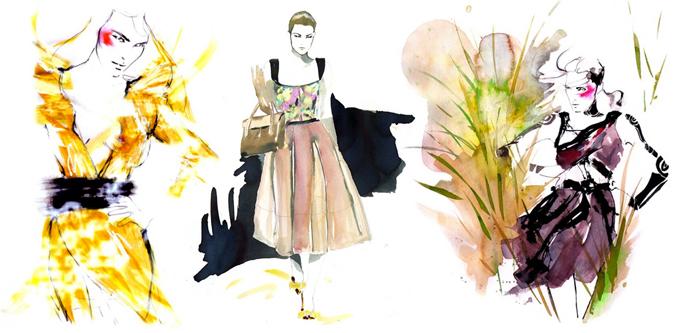 Мода в иллюстрациях. Часть 2 (фото 5