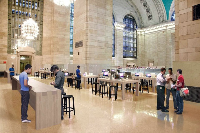 Apple Store на Grand Central Station (фото 3)