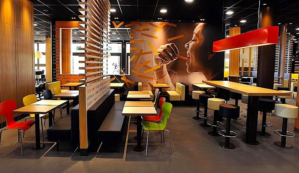 Дизайн ресторанов макдональдс в