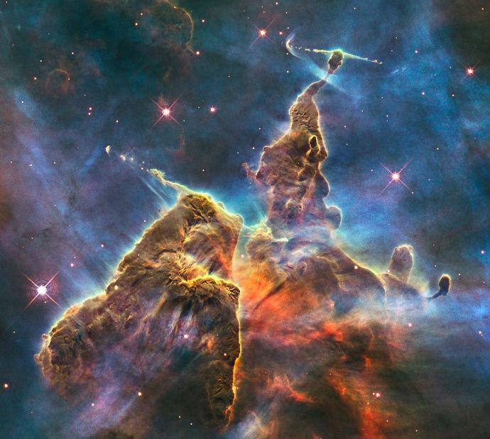 Картина Ван Гога из космических фотографий (фото 3)