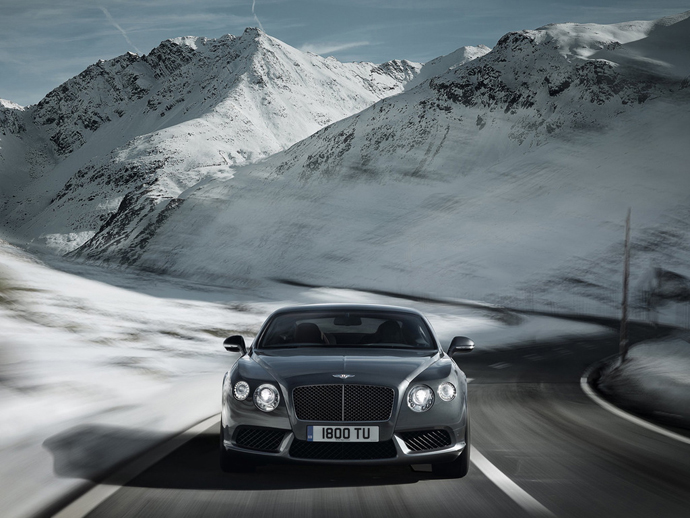 Новый Bentley Continental GT V8 (фото 2)