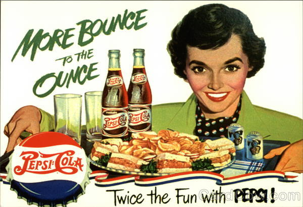 Негритянка в рекламе пепси