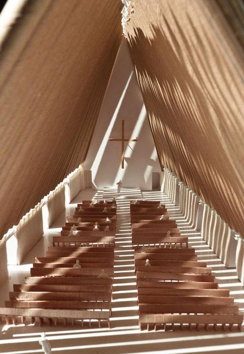 Картонная церковь Шигеру Бана (фото 7)