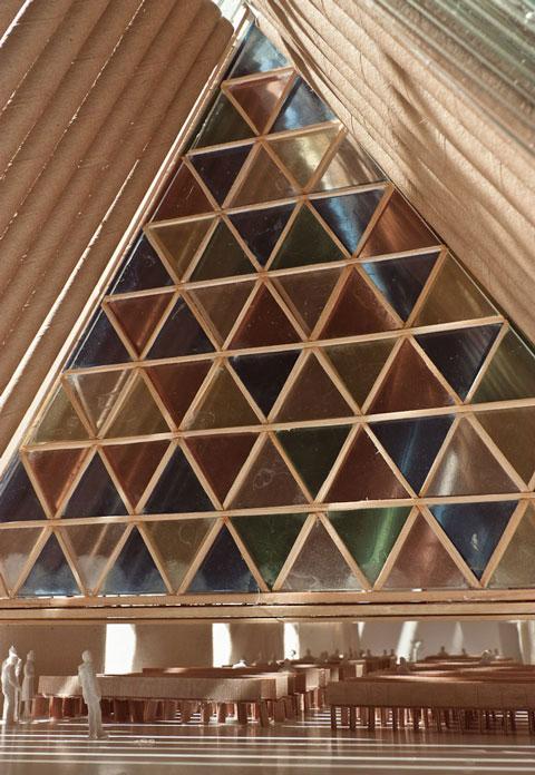 Картонная церковь Шигеру Бана (фото 8)