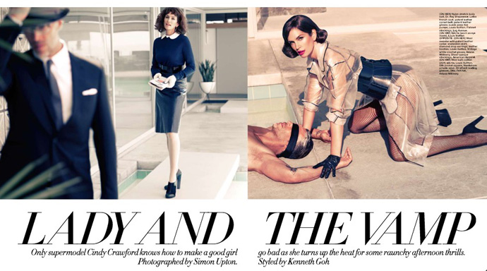Lady And The Vamp, Harper's Bazaar Singapore
