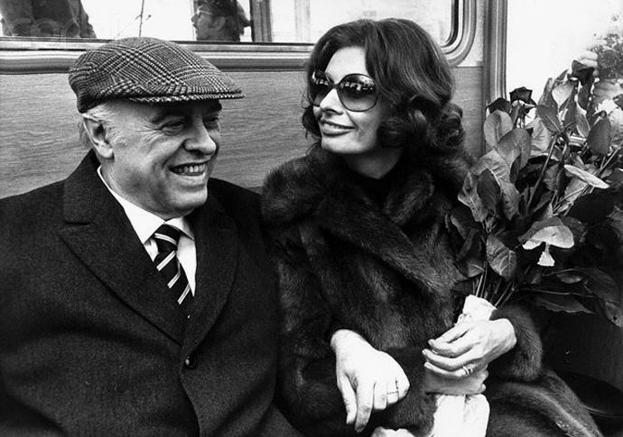 Культовые пары: Софи Лорен и Карло Понти (фото 10)
