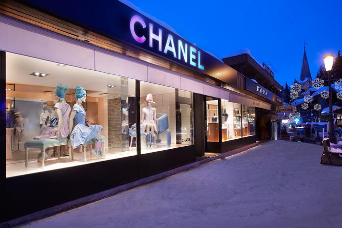 Pop-up-бутик Chanel в Куршевеле (фото 1)
