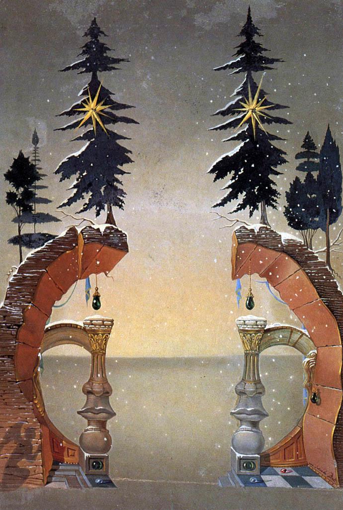 Новый год и Рождество в живописи (фото 16)