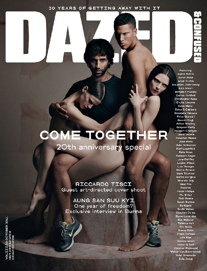 Dazed & Confused October 2011 Cover