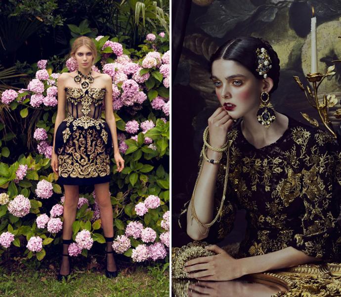 Знаковые вещи осени: платья Dolce&Gabbana (фото 10) .