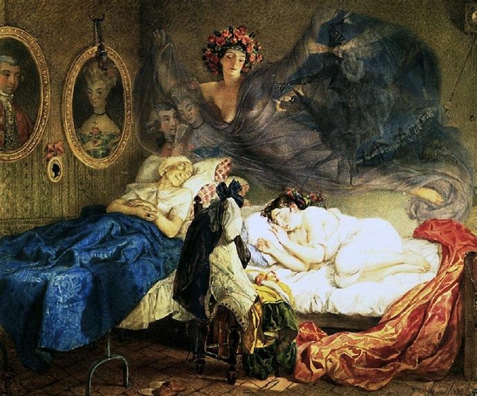 знакомство пушкина и брюллова
